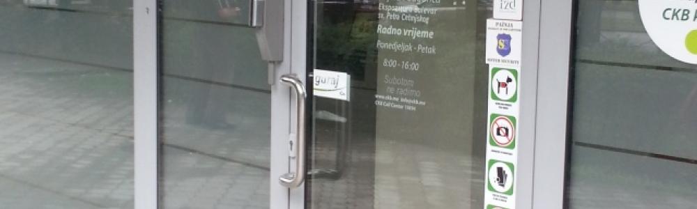 Filijala – Crnogorska komercijalna banka, Ul. Bulevar Svetog Petra Cetinjskog br. 121 – Podgorica