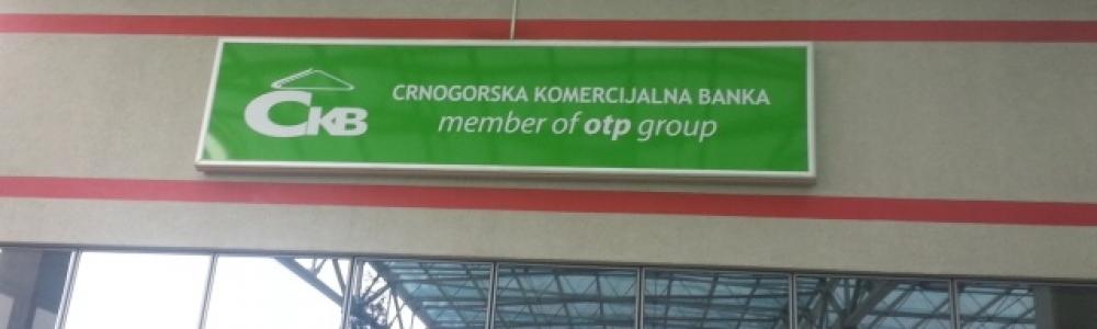 Filijala – Crnogorska komercijalna banka, Stari Aerodrom – Podgorica