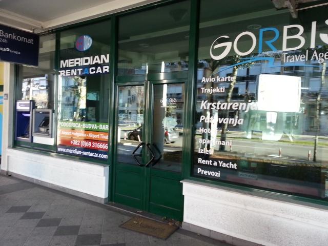 GORBIS – Turisticka agencija, Podgorica
