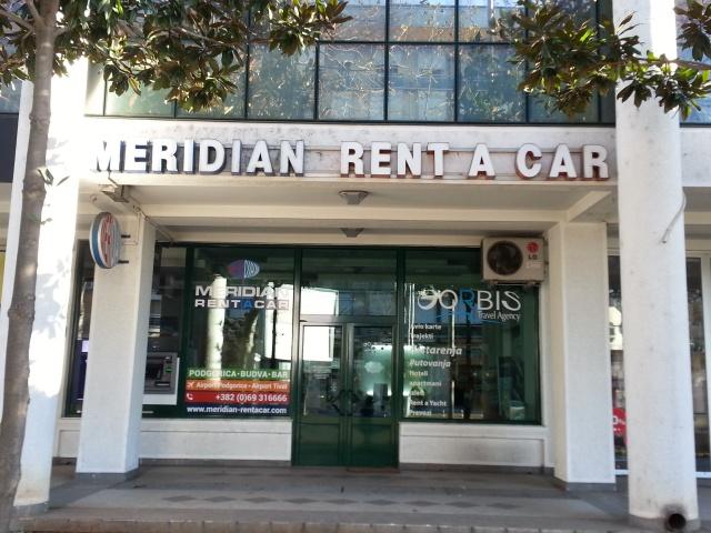MERIDIAN RENT A CAR – Podgorica