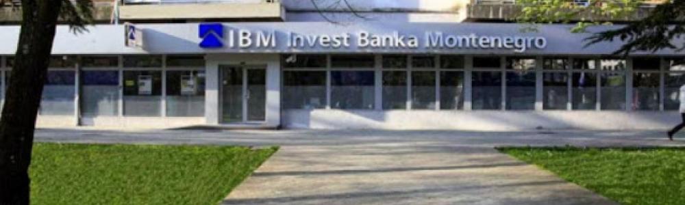 IBM INVEST BANKA MONTENEGRO – Podgorica