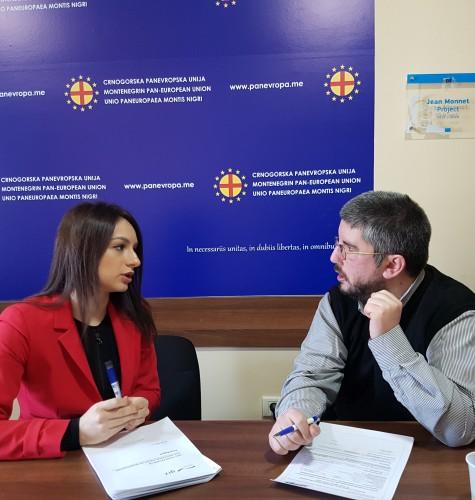 Intervju sa projekt menadžerkom i članicom predsjedništva mladih Crnogorske Panevropske Unije, g-đicom Teodorom Lađić