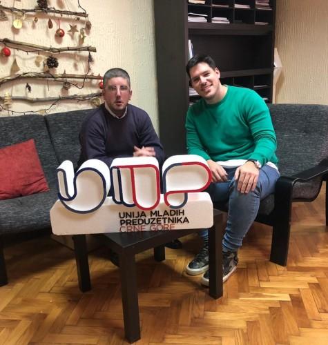 Intervju sa predsjednikom Unije mladih preduzetnika Crne Gore, g-dinom Urošem Bulatovićem